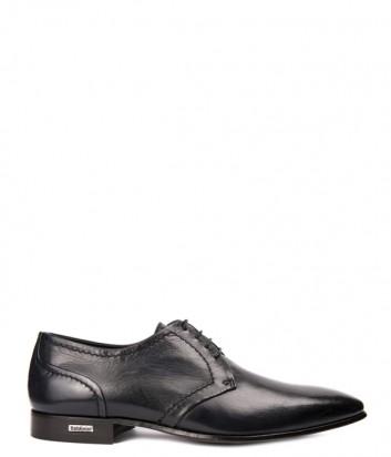Мужские кожаные туфли Baldinini 897241 черные
