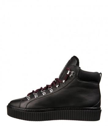 Мужские кожаные ботинки John Richmond 5820 черные