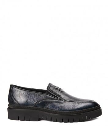 Кожаные мужские туфли Mario Bruni 61702 синие