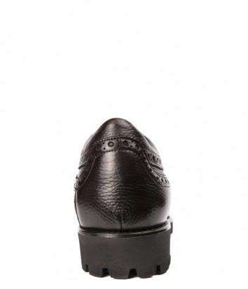 Классические мужские туфли Mario Bruni 61588 коричневые