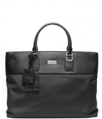 Деловая мужская сумка Baldinini 420032 с отделением для планшета черная