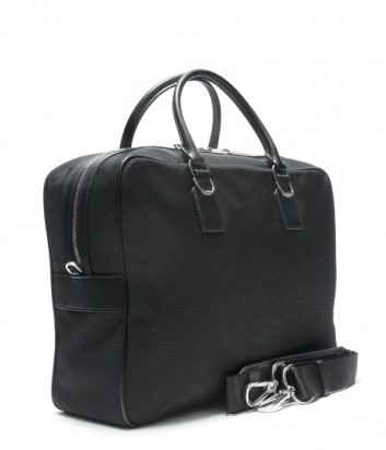 Вместительная деловая мужская сумка Baldinini 440032 черная