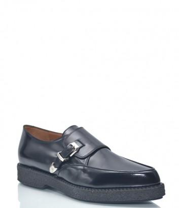 Черные туфли Sartore 9501 в полированной коже