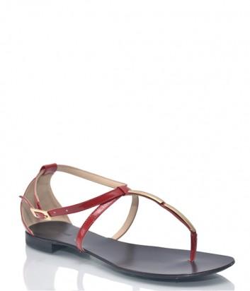 Кожаные сандалии Renzi 9464 красные
