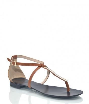 Кожаные сандалии Renzi 9463 рыжие