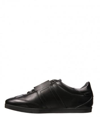Кожаные мужские кеды John Richmond 5853 черные