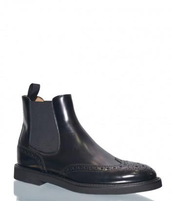 Кожаные ботинки-челси Roberto Serpentini 611 черные