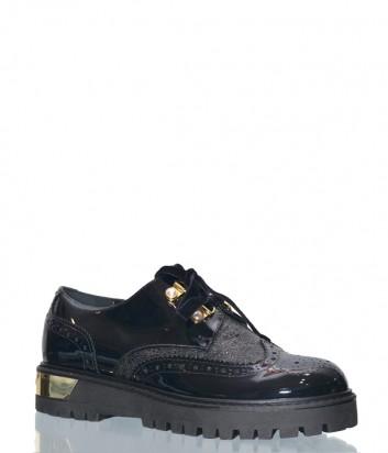 Женские лаковые туфли Loretta Pettinari 14865 черные