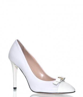 Кожаные туфли Angelo Giannini 9464 белые