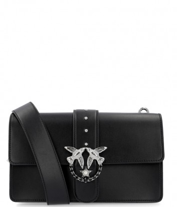 Кожаная сумка Pinko Love Bag 1P2176 черная
