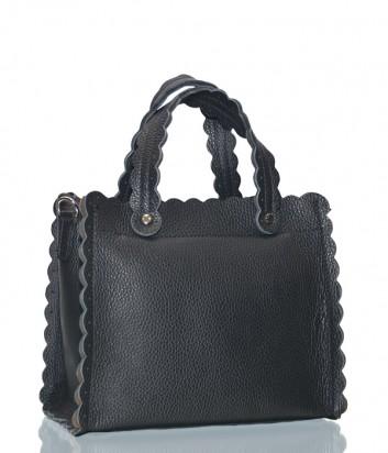 Черная кожаная сумка Leather Country 3392984 со съемным плечевым ремнем