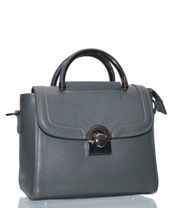 Кожаная сумка-портфель Leather Country 3692000 серая