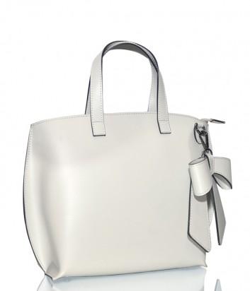 Женская сумка Leather Country 3692349 в белой гладкой коже