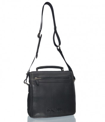 Мужская кожаная сумка через плечо Gilda Tonelli 175 черная