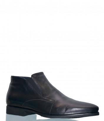 Кожаные туфли Aldo Brue KP58 черные