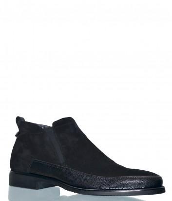 Замшевые туфли Aldo Brue KP44 черные
