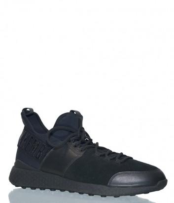 Комбинированные кроссовки Dirk Bikkembergs 108837 сине-черные