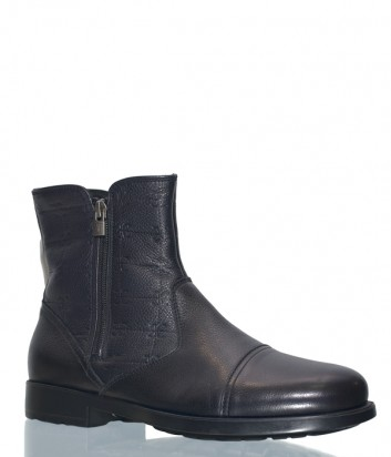 Мужские кожаные ботинки Fabi 5191 черные