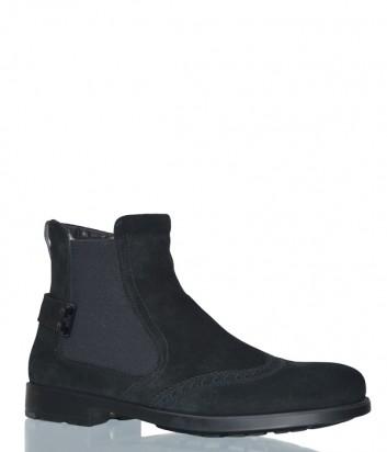 Мужские замшевые ботинки Fabi 5193 черные