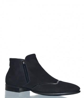 Мужские замшевые ботинки Fabi 5004 черные