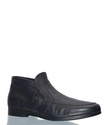 Мужские кожаные ботинки Fabi 7699 черные