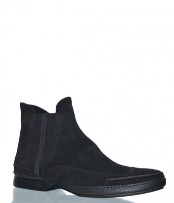 Замшевые ботинки Fabi 4430 черные