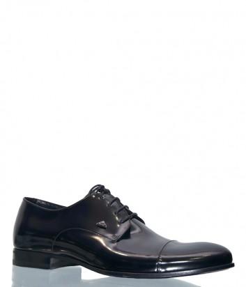 Черные туфли Fabi 7250 в лаковой коже