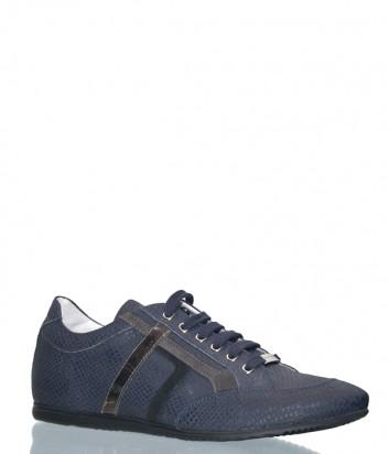 Мужские кожаные кроссовки Richmond 5224 синие