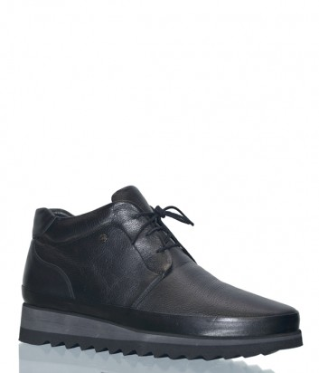 Кожаные мужские ботинки Lab Milano 18863 черные
