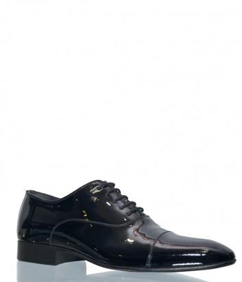 Черные туфли Roberto Serpentini 23413 в лаковой коже