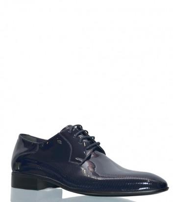 Синие туфли Roberto Serpentini 8138 в лаковой коже