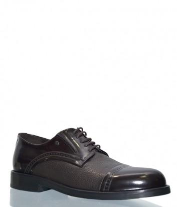 Мужские кожаные туфли Roberto Serpentini 22111 коричневые