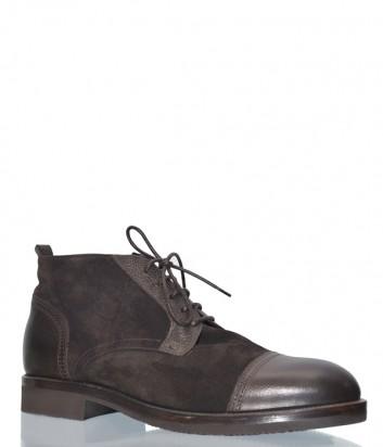 Замшевые ботинки Mario Bruni 19439 коричневые