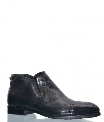 Кожаные ботинки Mario Bruni 15371 черные