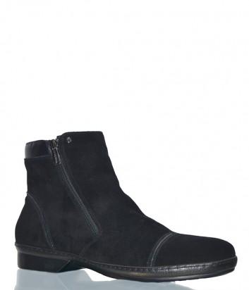 Замшевые ботинки Mario Bruni 90556 черные