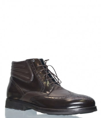 Кожаные ботинки Mario Bruni 94181 коричневые