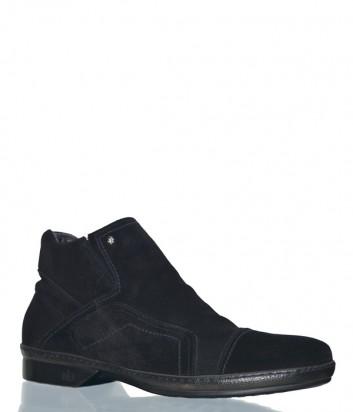 Замшевые ботинки Mario Bruni 80424 черные