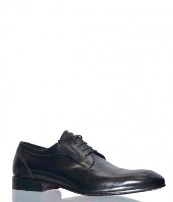 Черные классические туфли Mario Bruni 60766 в гладкой коже