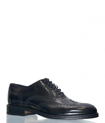 Черные туфли Mario Bruni 59434 в полированной коже