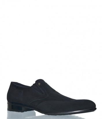 Замшевые мужские туфли Mario Bruni 52220 черные