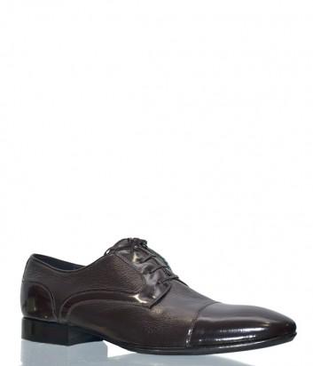Мужские кожаные туфли Mario Bruni 53969 коричневые