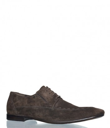 Мужские замшевые туфли Mario Bruni 51445 коричневые