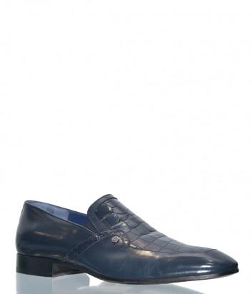 Мужские кожаные туфли Mario Bruni 60764 синие