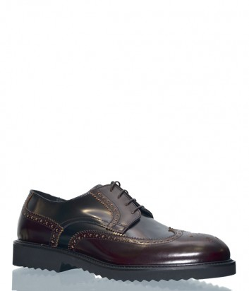 Кожаные туфли Giovanni Conti 4067 коричневые