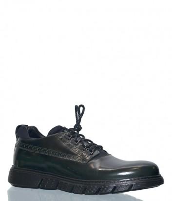 Мужские кожаные туфли Barracuda 2922 черные