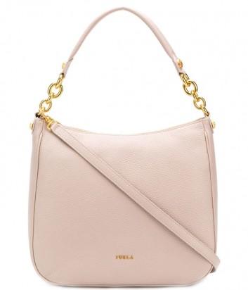 Кожаная сумка Furla Cometa 998484 нежно-розовая