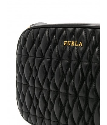 fbbe177b8ebf ... Маленькая сумка через плечо Furla Cometa 993102 в стеганной коже черная  ...
