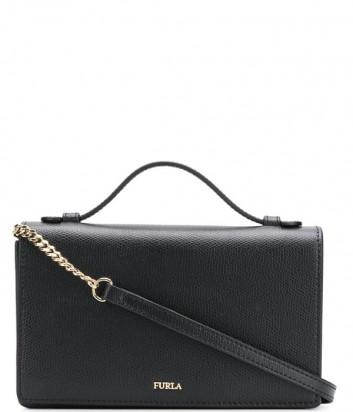 Черная сумочка Furla Incanto 978230 с вкладышем для пластиковых карт