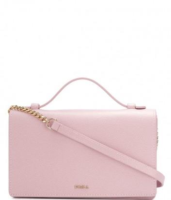 Розовая сумочка Furla Incanto 992946 с вкладышем для пластиковых карт