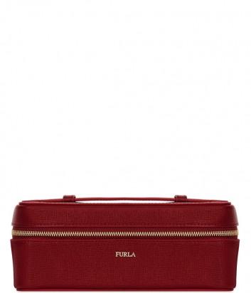 Кожаная косметичка Furla Bloom 992312 красная